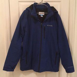 Columbia Omni-Shield Hooded Insulated Jacket Coat
